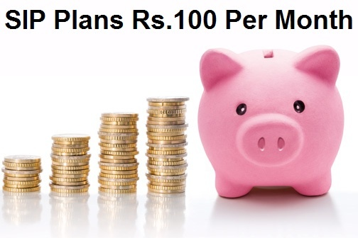 SIP Plans Rs.100 Per Month – Best 5 SIP Start to Invest at Just 100 Rs.