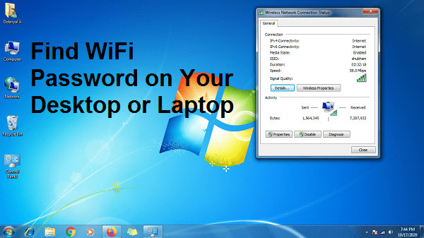 Find WiFi Password on Computer – How to Find Wireless Password