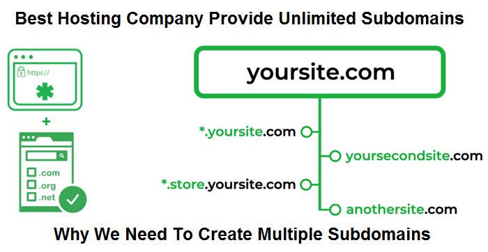 Which Web Hosting Company Offer Unlimited SubDomains Full Detail