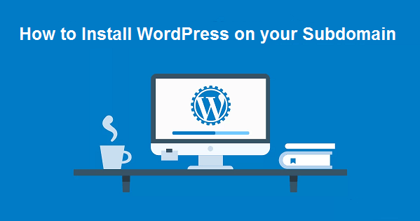 How to Install WordPress on your Subdomain Step By Step in Hindi
