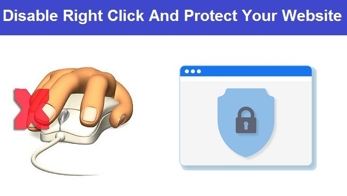 How to Disable Mouse Right Click on WordPress or Blogger Website