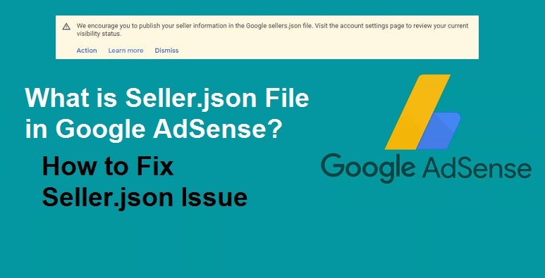 What is Seller.json File – How to fix Google AdSense seller.json issue 2021