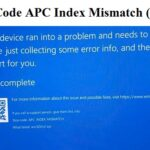 Window 10 Restart When Printing – Stop Code APC Index Mismatch (Solved)